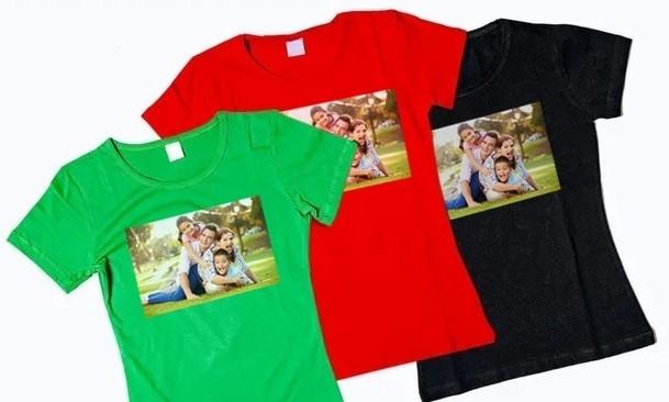 Нанесение фотографий на футболки в челябинске